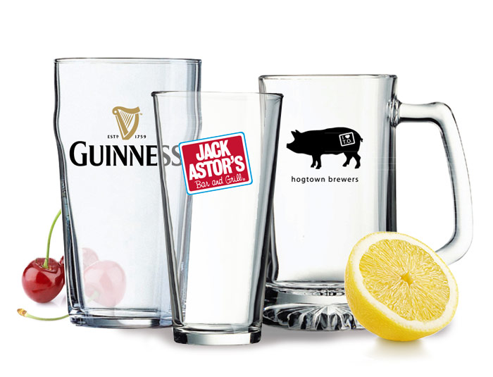 Custom Printed Glassware