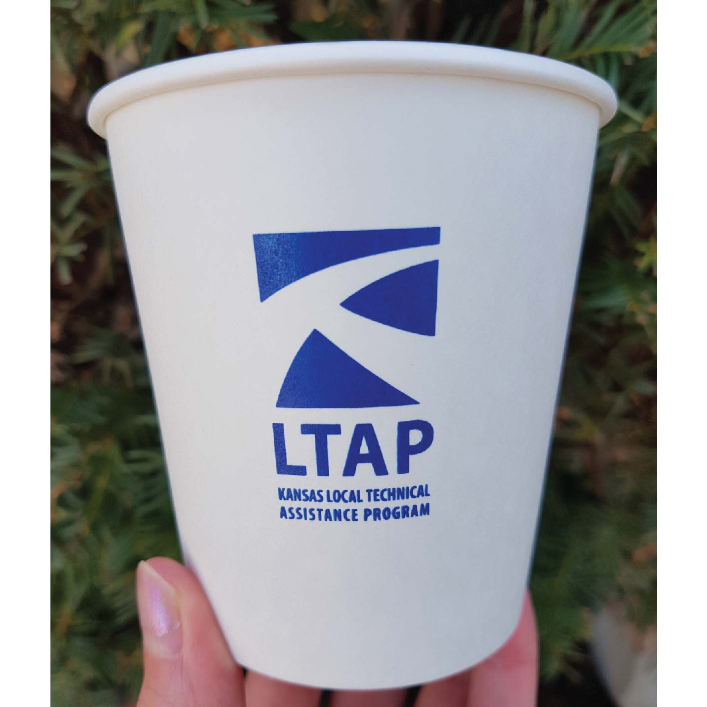 10 oz. Custom Printed Compostable Paper