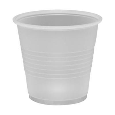 5 oz. Ribbed Translucent Plastic Cup
