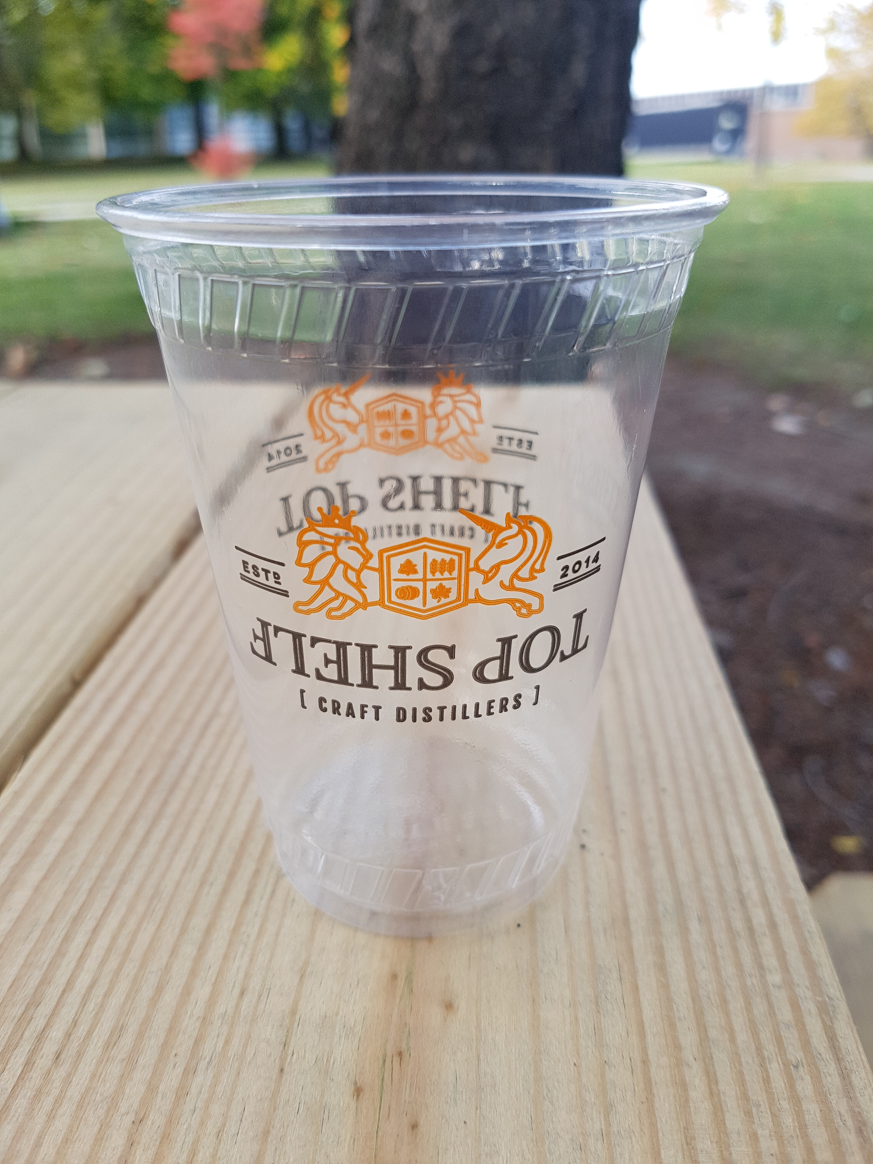 7 oz Custom Printed Compostable Plastic (100/Pack)