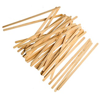"7"" Wood Stir Sticks"