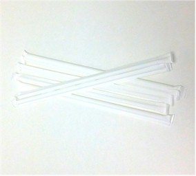 "8"" Wrapped Plastic Straw"