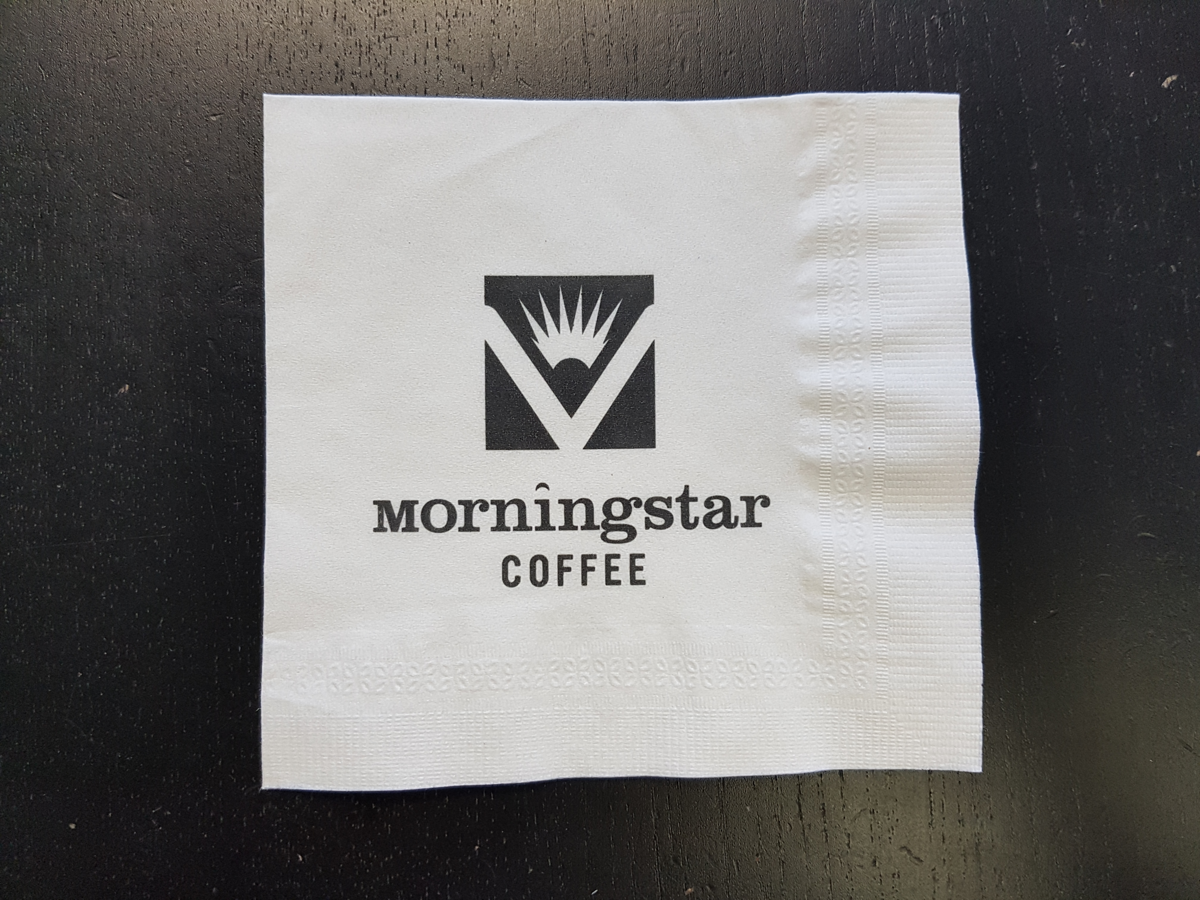 Custom Printed White Beverage Napkin