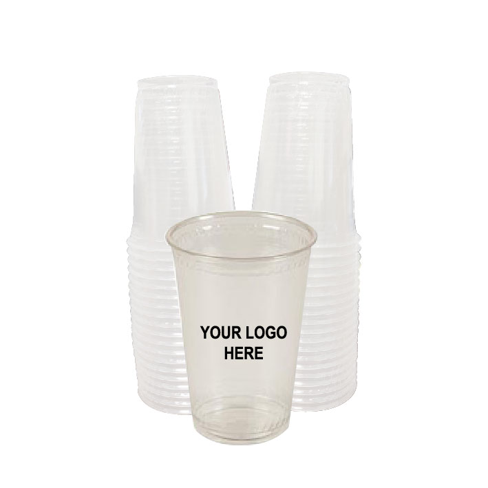 7 oz Clear PLA Plastic Cups (100/Pack)