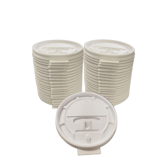 8oz Lock Back Lid (100/Pack)