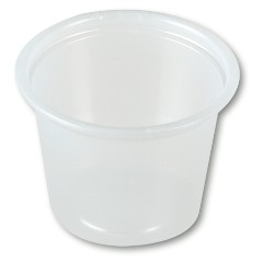1 oz. Plastic Portion Cup