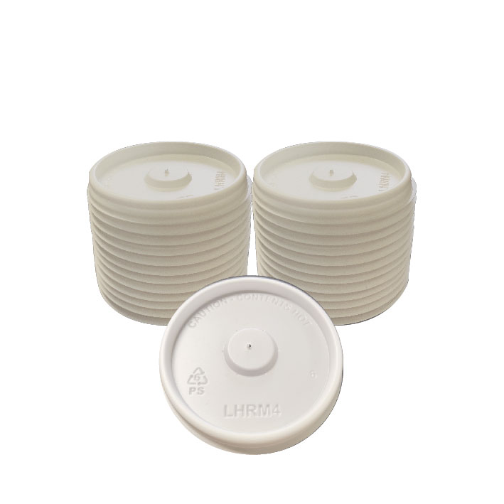 4oz Vented Lid (100/Pack)