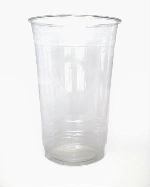 20 oz. Recyclable Clear Plastic Cup