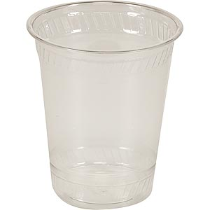 12 oz. Compostable Plastic Cup (1,000/Case)
