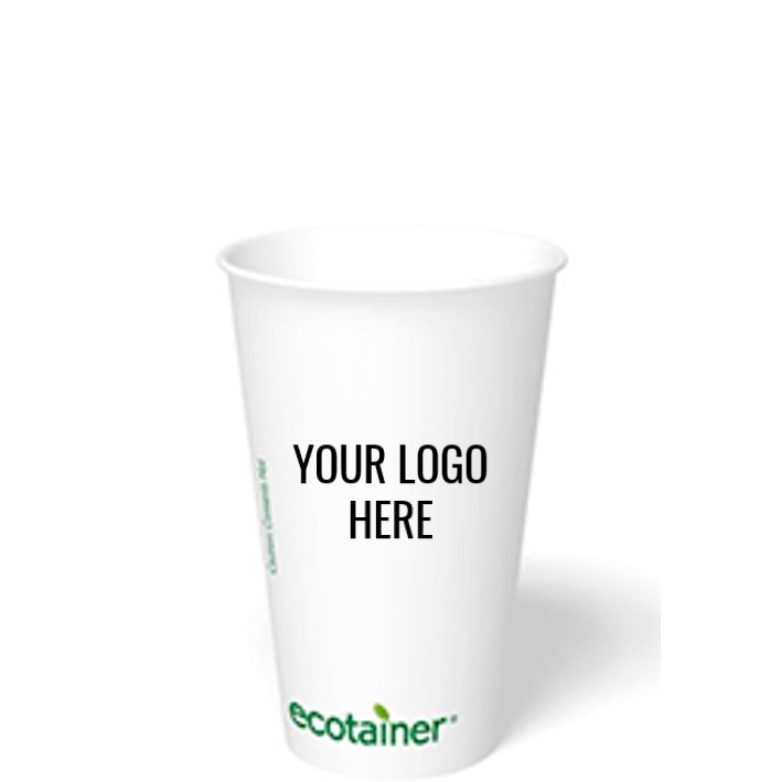 16 oz. Custom Printed Compostable Paper