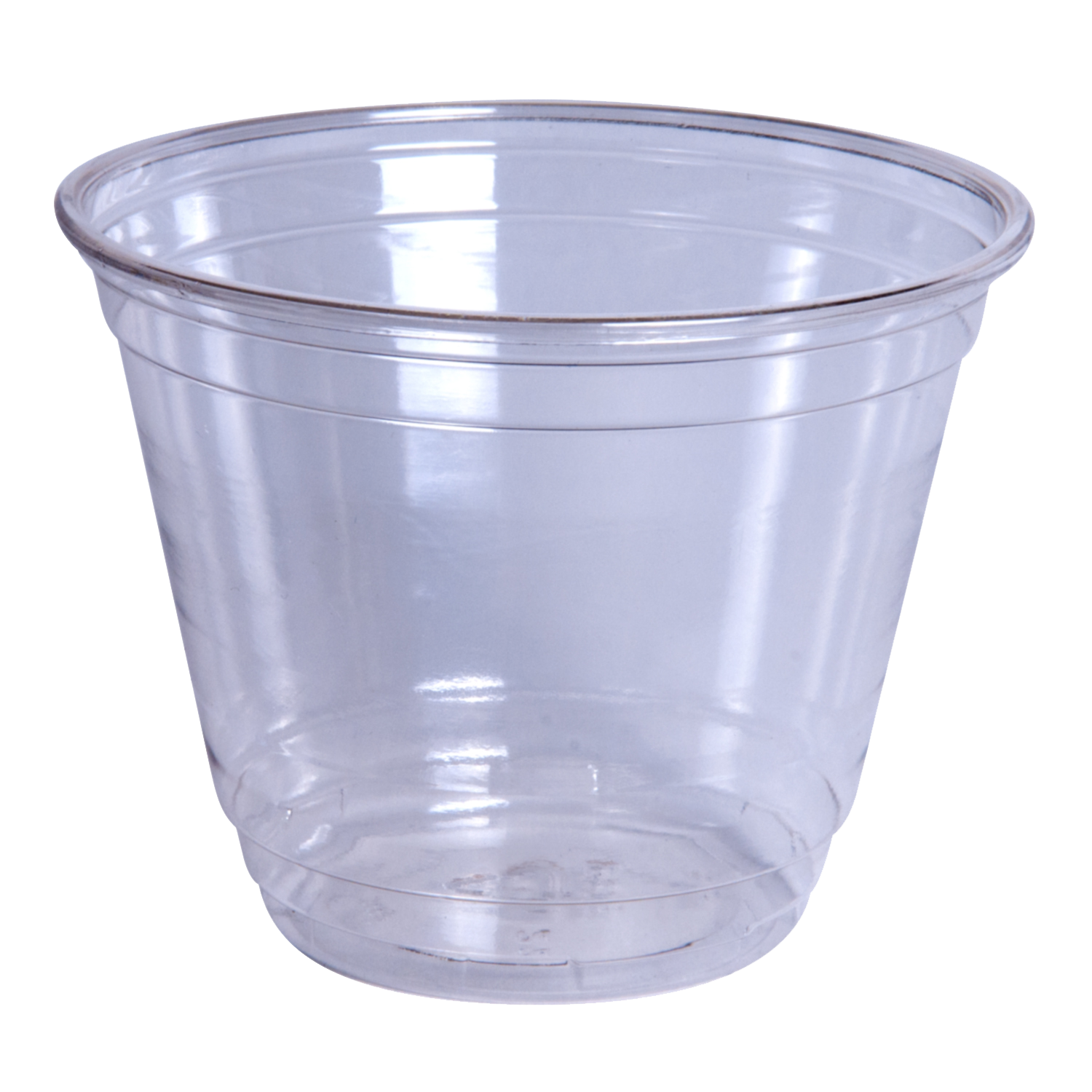 9 oz. Recyclable Clear Plastic Cup
