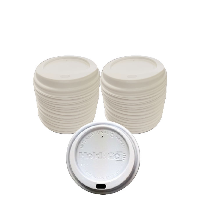 Hold & Go White Dome Lid (120/Pack)