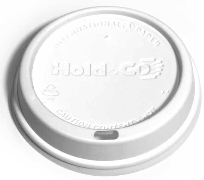 Hold & Go White Dome Lid (1,200/Case)