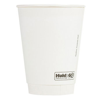12 oz. Recyclable Paper Double Walled Cup (600/Case)