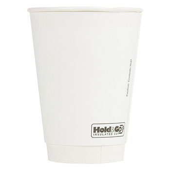 16 oz. Recyclable Paper Double Walled Cup (600/Case)