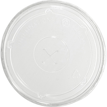 12/20 oz. Clear Flat Straw Lid
