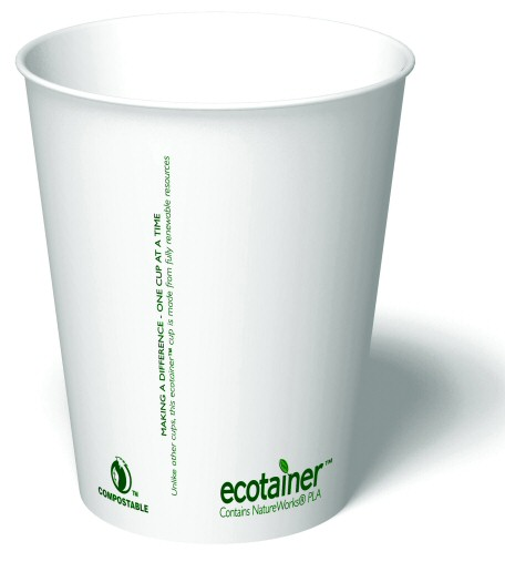 12 oz. Compostable Paper Cup (1,000/Case)