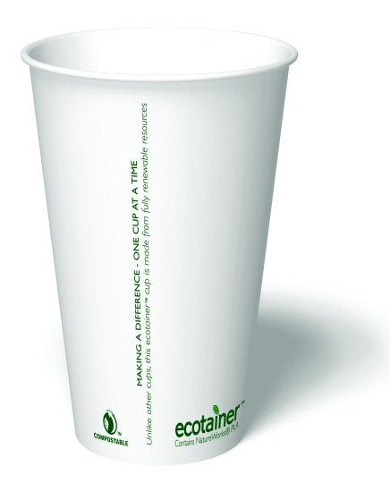 16 oz. Biodegradable Paper Cup